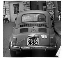 Fiat in Rome Poster