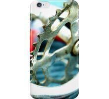 Junked Bicycle Sprocket iPhone Case/Skin