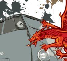Dragon VW Van Sticker