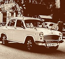 Vintage Indian Ambassador by andreaminerdo