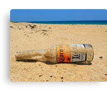 Hard day at the Beach Canvas Print