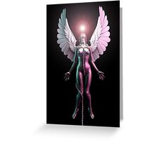 Angel Forbidden to Leave Greeting Card