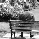 The Lonely Man, from behind  by DearMsWildOne