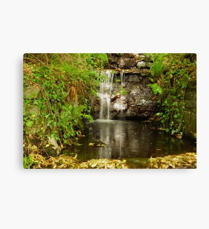 Tumbling water Canvas Print