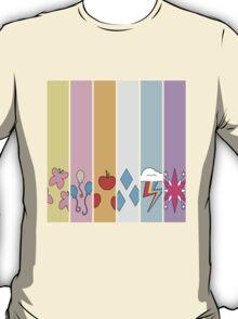 Friendship is Magic - Cutie Mark Collection T-Shirt