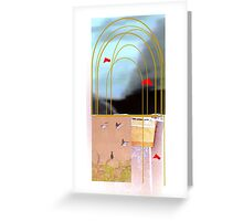 Willow weep Greeting Card