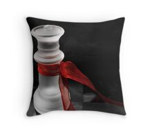 Queen of Ice Throw Pillow