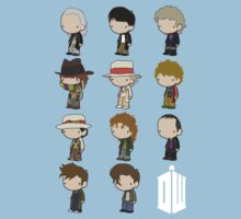 The 11 Doctors One Piece - Short Sleeve