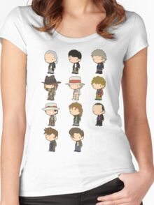 The 11 Doctors Women's Fitted Scoop T-Shirt
