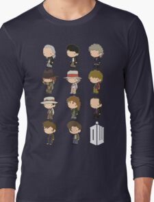 The 11 Doctors Long Sleeve T-Shirt