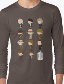 The 11 Doctors Long Sleeve T-Shirt