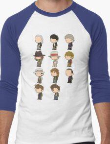 The 11 Doctors Men's Baseball ¾ T-Shirt
