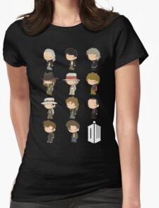 The 11 Doctors Womens Fitted T-Shirt