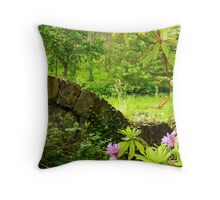 A green and pleasant place Throw Pillow