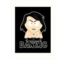Tiny Danzig Art Print