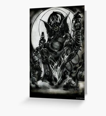 Ganesh by Jesse Lindsay 2011 Greeting Card