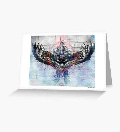 Lotus by Jesse Lindsay 2011 Greeting Card