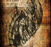 Carnal Phrenology by Jesse Lindsay 2011 by jesse lindsay