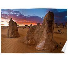 Nambung National Park Pinnacles Sunrise 8 Poster