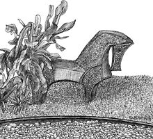 A Horse In The Garden by W. H. Dietrich