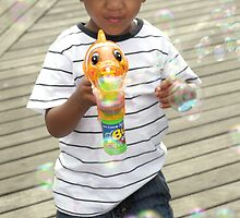Mr. Bubbles by Geos