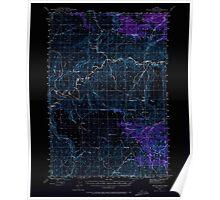 USGS Topo Map Oregon Eagle Rock 282442 1946 62500 Inverted Poster