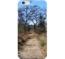 Footpath in the Bushveld iPhone Case/Skin