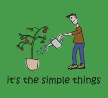 Male Gardener - Simple Things by Jon Winston