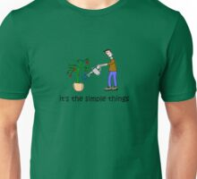 Male Gardener - Simple Things Unisex T-Shirt