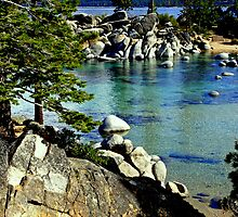 """Sand Harbor Morning"" by Lynn Bawden"