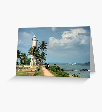 Lighthouse at Galle Fort Greeting Card