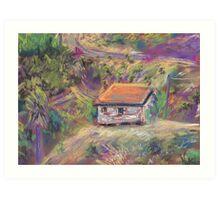 Next Door (pastel) Art Print
