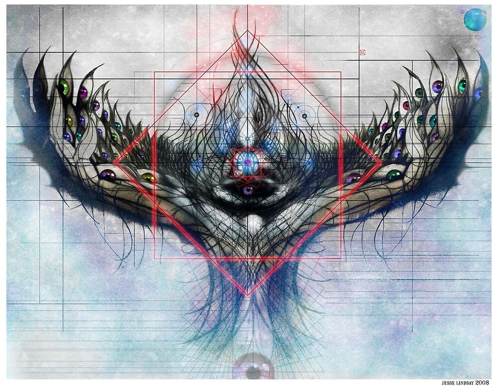 Lotus by Jesse Lindsay 2011  by jesse lindsay