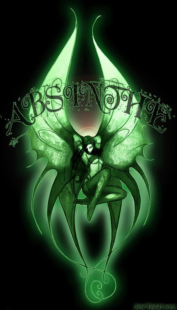 Absinthe Fairy 001 by Jesse Lindsay  by jesse lindsay