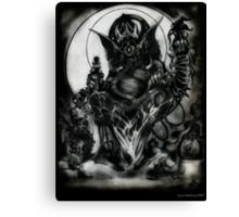 Ganesha by Jesse Lindsay 2011 Canvas Print