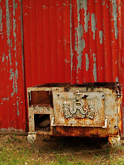 R is for Red & Rusty by Melissa-Louise