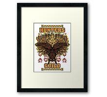 Hunters Guild - Rajang Framed Print