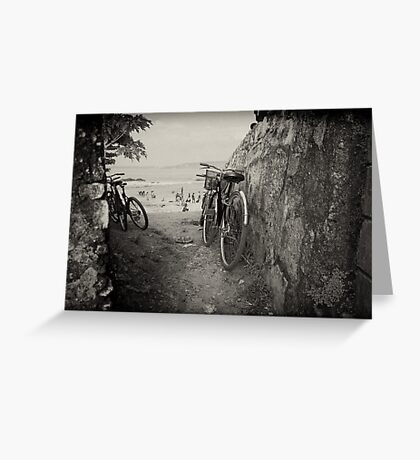Between the Walls - Galle Fort Greeting Card