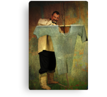 Chain Maille Maker Canvas Print
