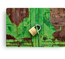 ... do you have the key? ... Canvas Print