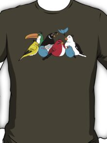 Furious Feathered Friends T-Shirt
