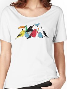 Furious Feathered Friends Women's Relaxed Fit T-Shirt