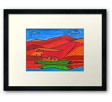 Landscape Echo Framed Print