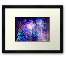 A REALITY BEYOND Framed Print