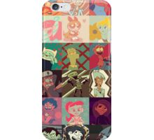 18 Cartoon Protagonists iPhone Case/Skin