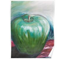Big Green Apple Poster