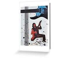 Guitar Hero Mock Greeting Card