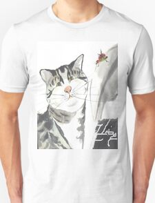 cat and red insect T-Shirt