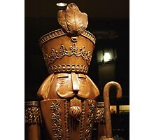 Wooden Nutcracker for Christmas 2 Photographic Print