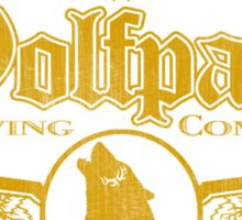 Wolfpack Brewing Company Sticker